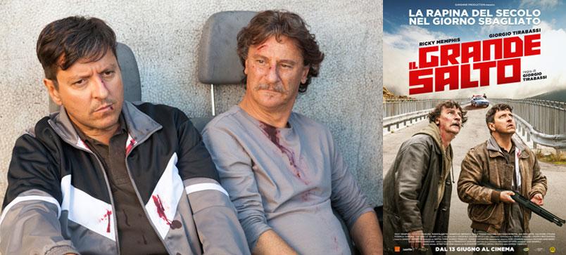 """""""Il grande salto"""" con Ricky Memphis e Giorgio Tirabassi, al cinema dal 13 giugno"""