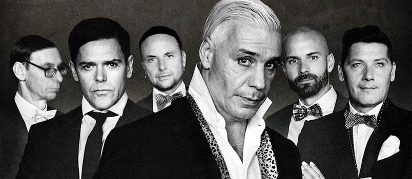 Rammstein a Torino nel 2020