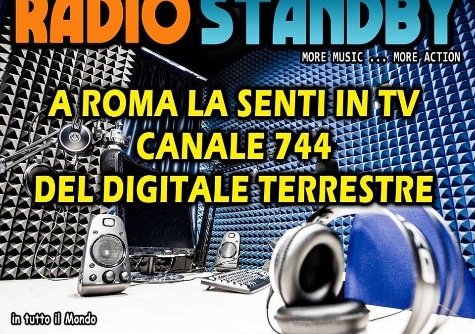 Ascolta Radio StandBy sul canale 744 del Digitale Terrestre