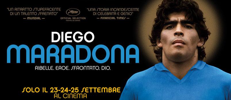 Diego Maradona firmato da Asif Kapadia, al cinema dal 23 al 25 settembre