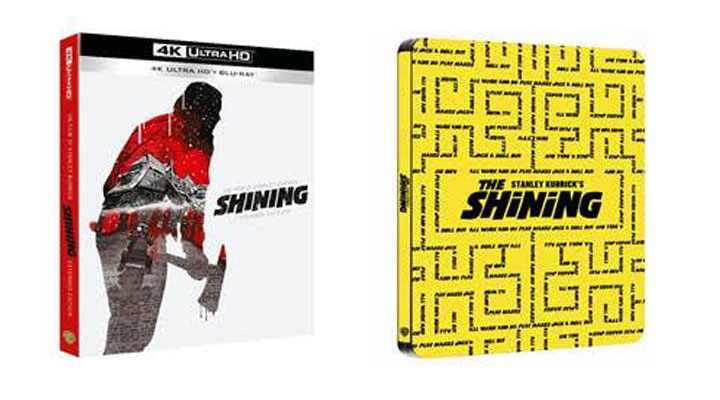 """Shining Extended Edition"" per la prima volta in 4K ULTRA HD, BLU-RAY, in digitale e al cinema dal 21 al 22 ottobre"
