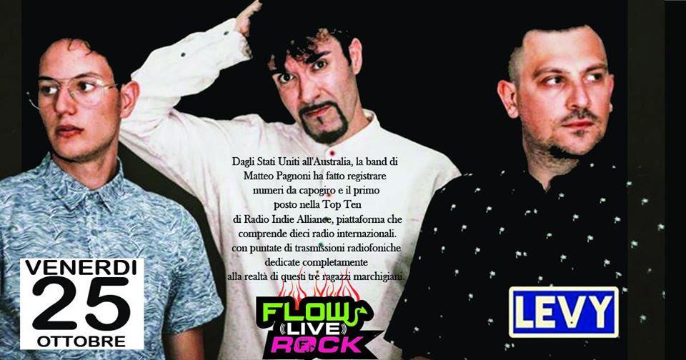 I LevY protagonisti al Florentia Rock live