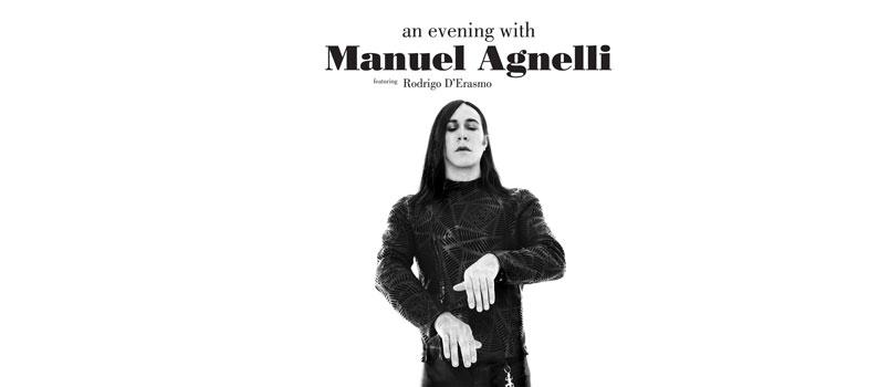 "Manuel Agnelli: in uscita il vinile di ""An Evening With Manuel Agnelli"""