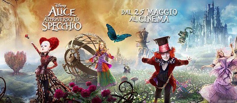 In vetta al box office 'Alice attraverso lo specchio'
