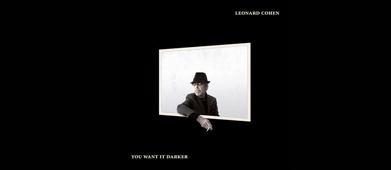 Leonard Cohen: esce il 21 ottobre il nuovo album