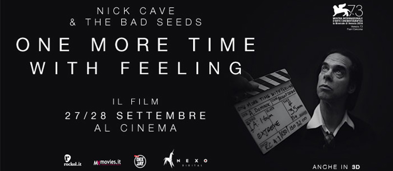 Nick Cave torna al grande cinema con 'One More Time With Feeling'
