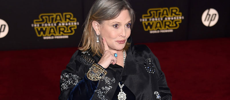 E' morta Carrie Fisher, la principessa di Star Wars
