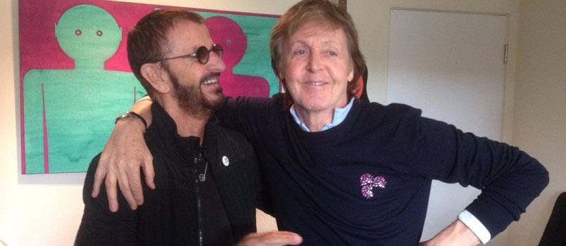 Paul McCartney e Ringo Starr di nuovo al lavoro insieme