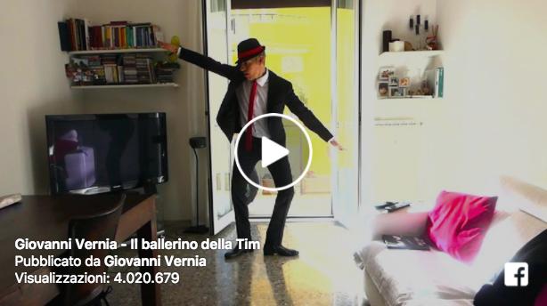 """Giovanni Vernia, il video del ballerino """"impallinato"""" (Parodia)"""