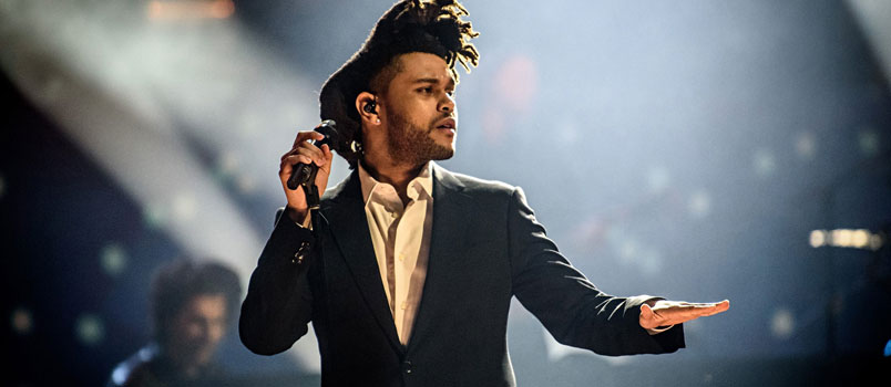 The Weeknd: in radio Rockin' il nuovo singolo
