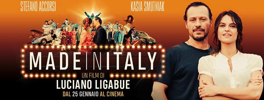 """""""Made in Italy"""" di Luciano Ligabue è il film più visto nel weekend"""