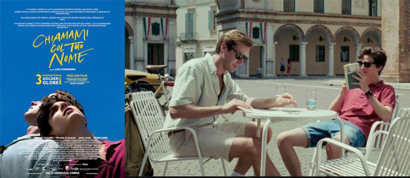 """""""Chiamami col tuo nome"""" il nuovo film di Luca Guadagnino"""