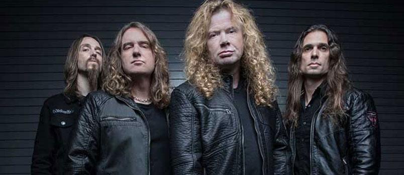I Megadeth al Rock in Roma 2018
