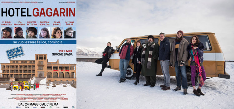 """""""Hotel Gagarin"""" di Simone Spada, al cinema dal 24 maggio"""