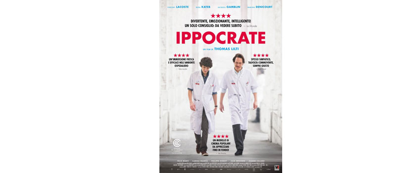"""""""Ippocrate"""" di Thomas Lilti, dal 7 giugno al cinema"""
