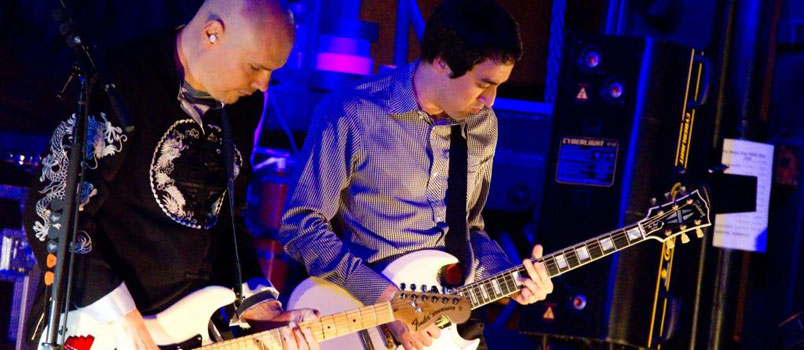 Billy Corgan with Jeff Schroeder