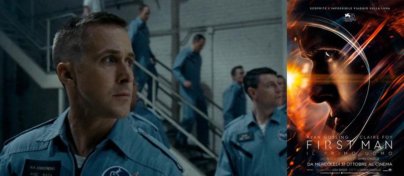 """""""First Man – Il Primo Uomo"""" di Damien Chazelle, da mercoledì 31 ottobre al cinema"""