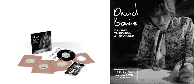 "David Bowie: dal 5 aprile il cofanetto ""Spying Through a Keyhole"""