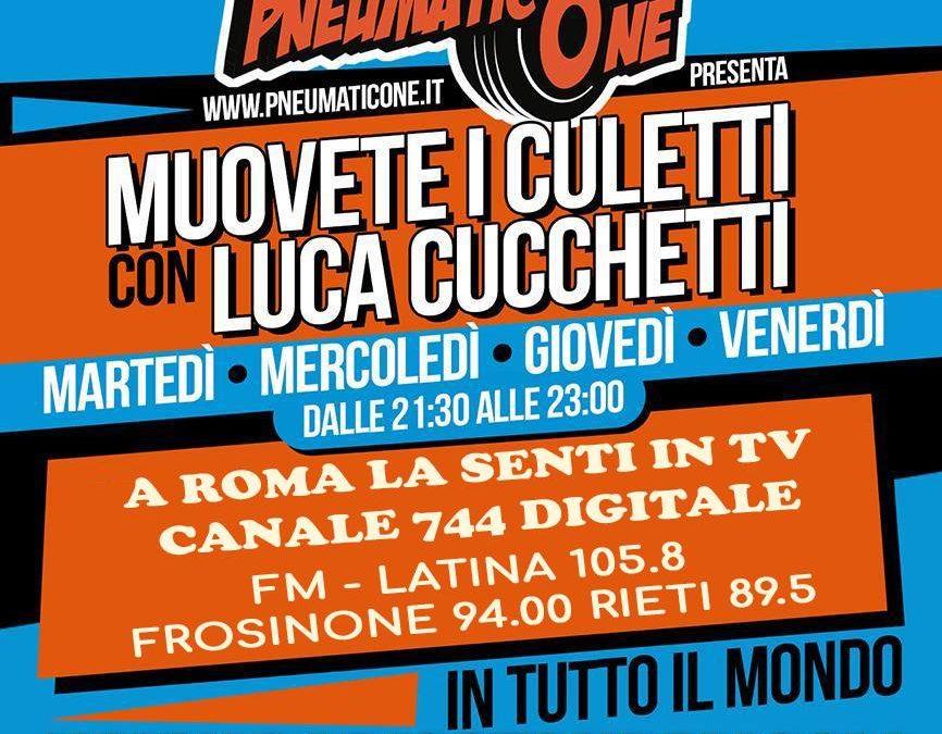 """Muovete i Culetti"" con Luca Cucchetti: dal martedì al venerdì in diretta su Radio Stand By"