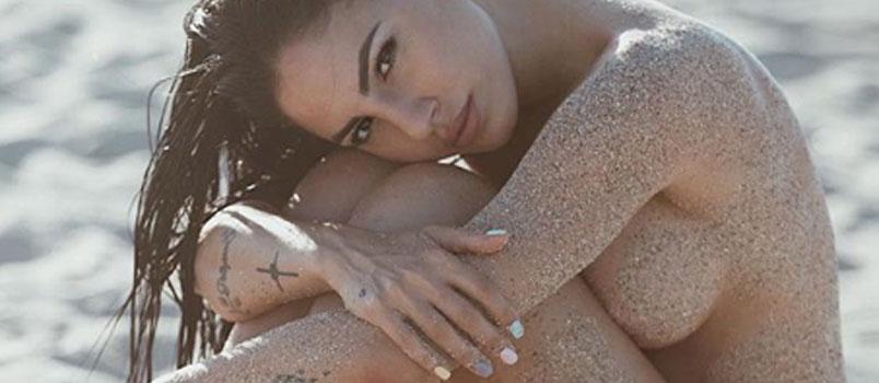 Giulia De Lellis sfodera il topless su Instagram