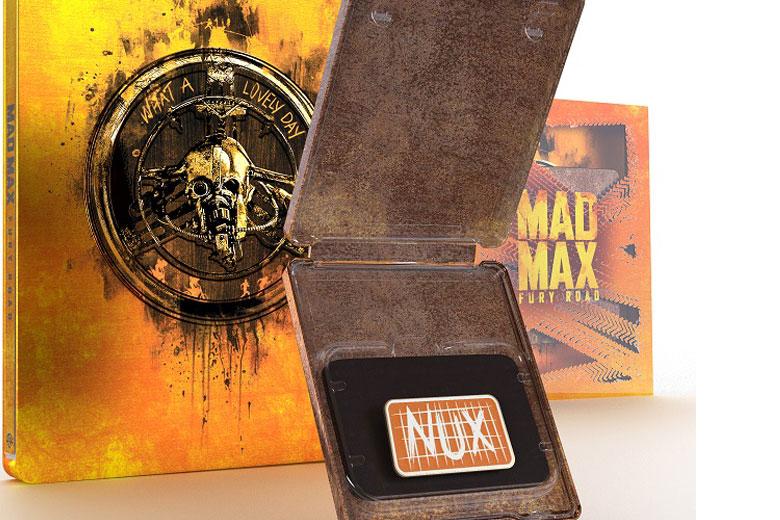 """Arriva la """"Titans of Cult"""" Steelbook in Edizione Limitata di  """"Mad Max: Fury Road"""""""