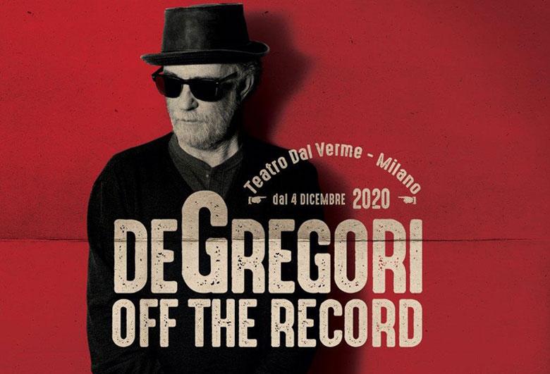 Francesco De Gregori live al Teatro dal Verme di Milano