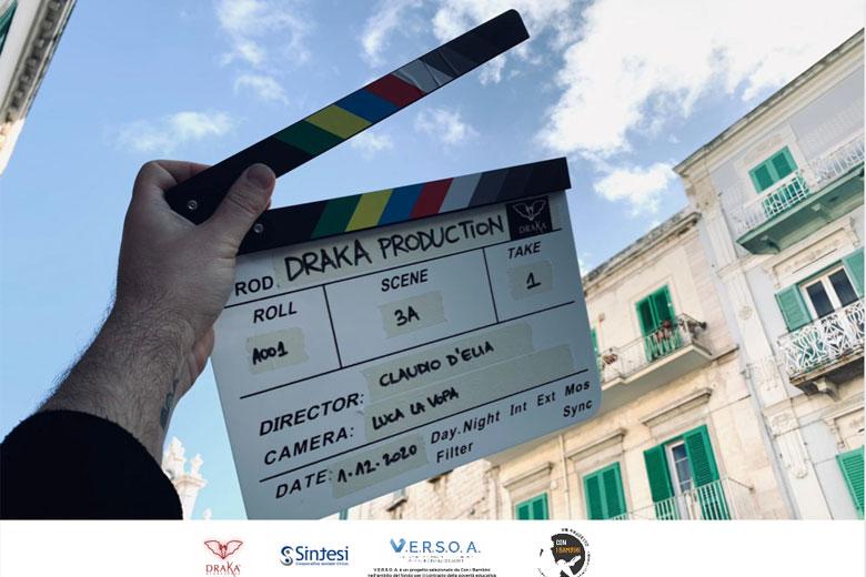 Inizio riprese SOGNI DI CARTA un docufilm di Claudio D' Elia con Alice Sabatini