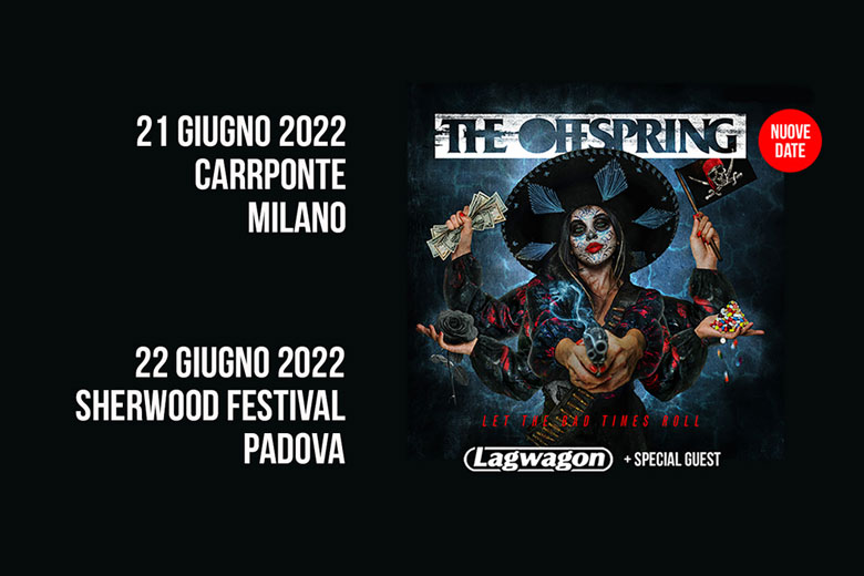 The Offspring e Lagwagon: le nuove date