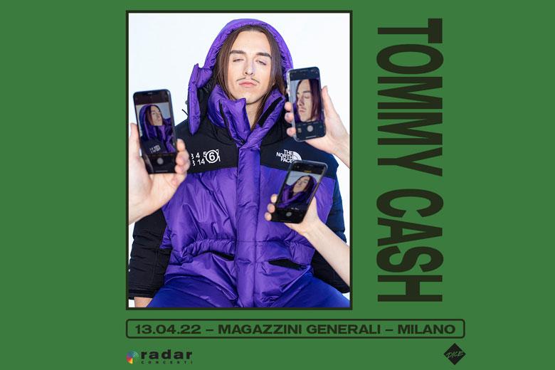 Tommy Cash: il profeta del Post-Soviet rap torna in Italia per un'imperdibile data